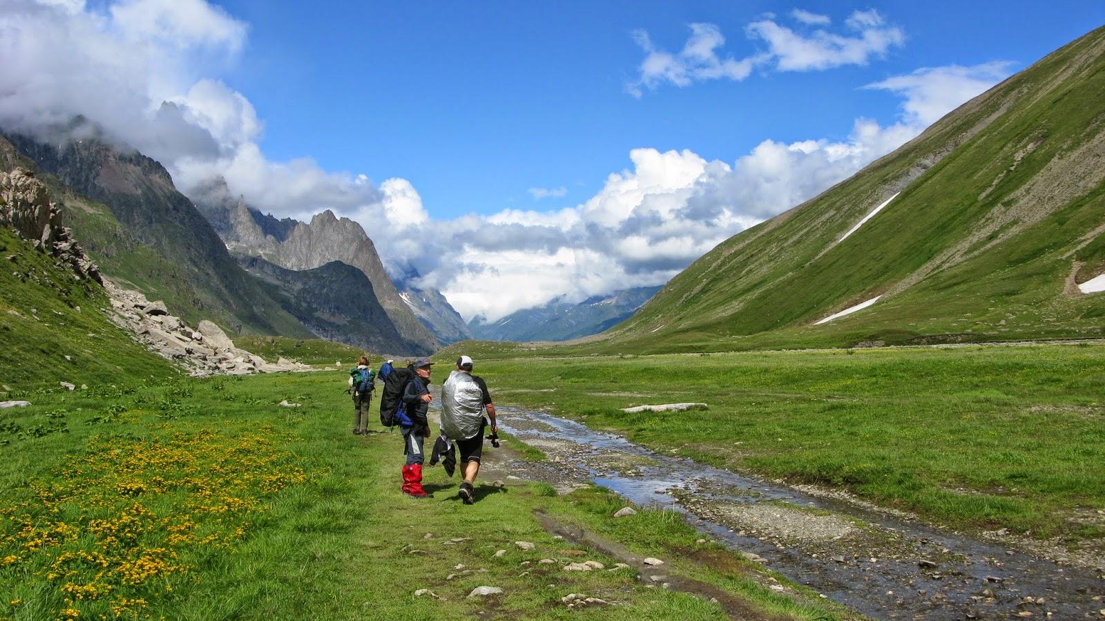 Mont Blanc inguratuz (TMB)
